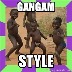 african kids dancing - GANGAM STYLE