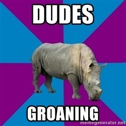 Recovery Rhino - Dudes Groaning