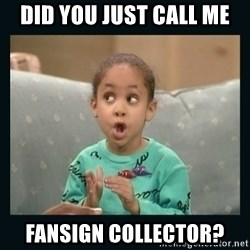 Raven Symone - did you just call me Fansign collector?