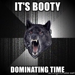Insanity Wolf - IT'S BOOTY DOMINATING TIME