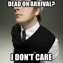 Patrick Stump awesome - DEAD on arrival? i don't care