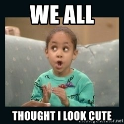 Raven Symone - We all ThoUght I look cute