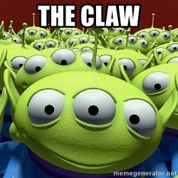 Toy Story Aliens Claw  - The claw