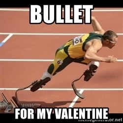 Oscar Pistorius Excuses - Bullet for my valentine