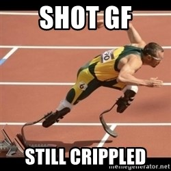 Oscar Pistorius Excuses - SHOT GF STILL CRIPPLED
