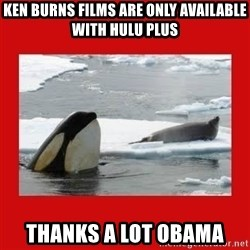 Thanks Obama! - Ken burns films are only available with hulu plus thanks a lot obama