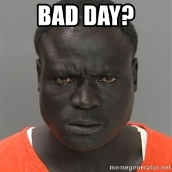 Hard Working Serious Guy - bad day?