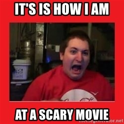 Disgruntled Joseph - IT'S IS HOW I AM  AT A SCARY MOVIE