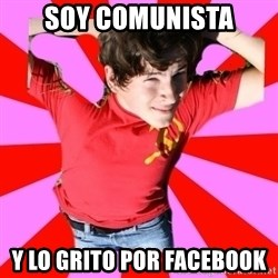 Model Immortal - soy comunista y lo grito por facebook