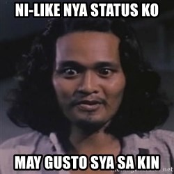 BOY ASSUMING - ni-like nya status ko may gusto sya sa kin