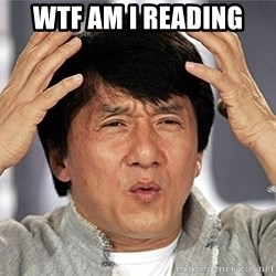 Jackie Chan - WTF Am i reading