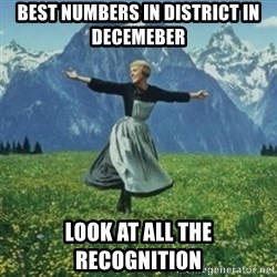 sound of music - best numbers in district in decemeber look at all the recognition