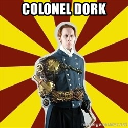 Steampunk Guy - colonel dork