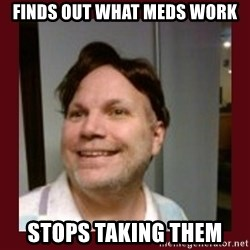 Free Speech Whatley - Finds out what meds work stops taking them