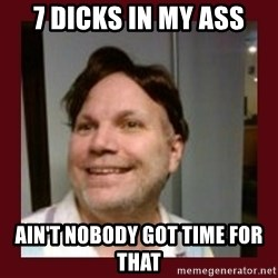 Free Speech Whatley - 7 dicks in my ass ain't nobody got time for that