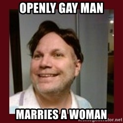 Free Speech Whatley - OPENLY GAY MAN MARRIES A WOMAN