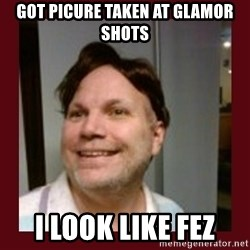 Free Speech Whatley - Got Picure taken at glamor shots i look like fez