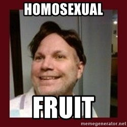 Free Speech Whatley - HOMOSEXUAL FRUIT