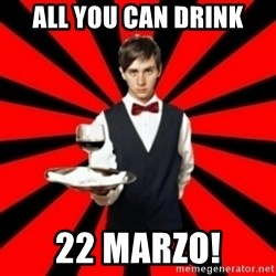 typical_off - All You Can Drink 22 marzo!