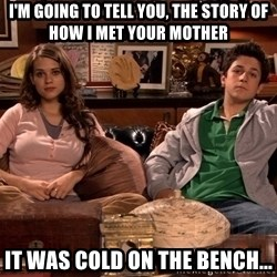 How i met your mother kids - I'm going to tell you, the story of how I met your mother It was cold on the bench...