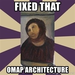 Retouched Ecce Homo - FIXED THAT OMAP architecture