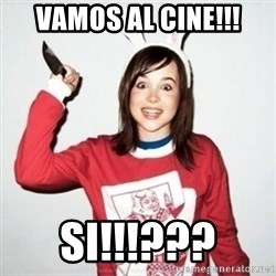 Crazy Girlfriend Ellen - vamos al cine!!! si!!!???