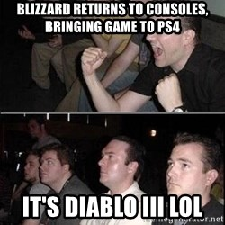 Reaction Guys - Blizzard returns to consoles, bringing game to ps4 it's diablo iiI lol