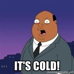 Ollie the Weatherman -  It's cold!