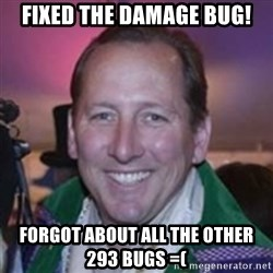 Pirate Textor - Fixed the damage buG! Forgot about all the other 293 bugs =(
