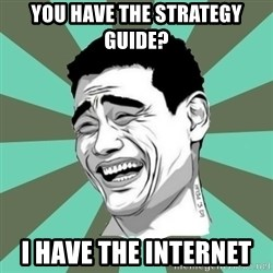 cynical journalist big - You have the strategy guide? I have the Internet