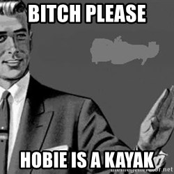 Correction Man  - BITCH PLEASE  HOBIE IS A KAYAK
