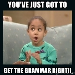 Raven Symone - You've just got to get the grammar right!!