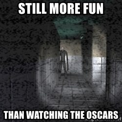 Slender game - still more fun than watching the oscars