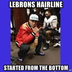 PAY FLACCO - LEBRONS HAIRLINE STARTED FROM THE BOTTOM