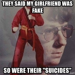 "Karate Kyle - THEY SAID MY GIRLFRIEND WAS FAKE SO WERE THEIR ""SUICIDES"""