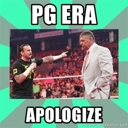 CM Punk Apologize! - PG ERA APOLOGIZE