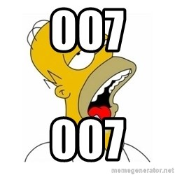 Homer Simpson Drooling - 007 007