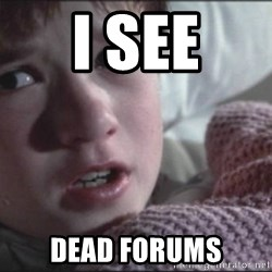 Dead People - I see Dead Forums