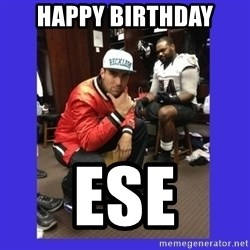 PAY FLACCO - HAPPY BIRTHDAY ESE