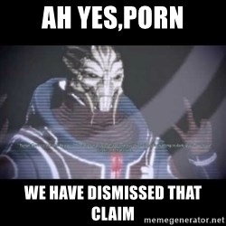 Ah, Yes, Reapers - Ah yes,porn we have dismissed that claim