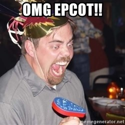 OMG it spins - OMG EPCOT!!