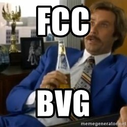 That escalated quickly-Ron Burgundy - FCC BVG