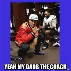 PAY FLACCO -  YEAH MY DADS THE COACH