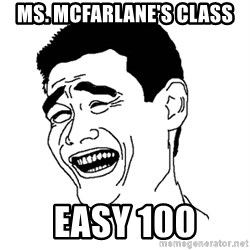 Asian Troll Face - Ms. Mcfarlane's Class easy 100
