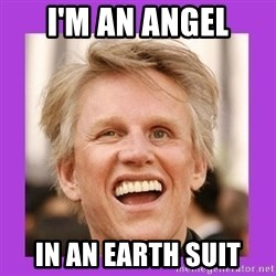 Gary Busey  - I'm an angel in an earth suit