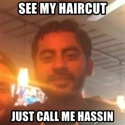 Andy Infante Best Bartender - SEE MY HAIRCUT JUST CALL ME HASSIN