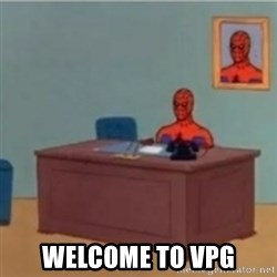 60s spiderman behind desk -  Welcome to VPG