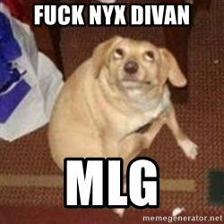 Oh You Dog - fuck nyx divan MLG