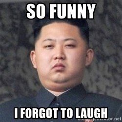Kim Jong-Fun - So funny i forgot to laugh