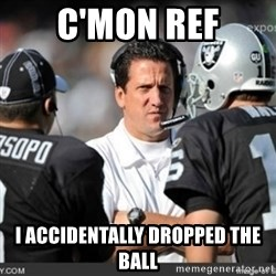Knapped  - C'MON REF I ACCIDENTALLY DROPPED THE BALL